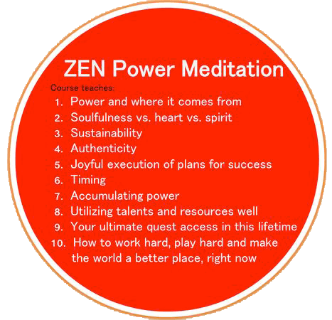 Zen Power Meditation